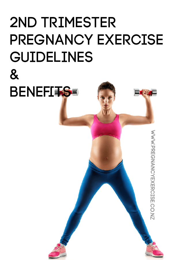 2nd Trimester Pregnancy EXercise Guidelines and Benefits