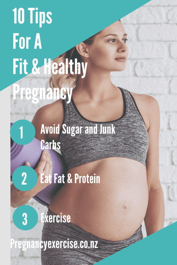10 Tips for a Fit and Healthy Pregnancy
