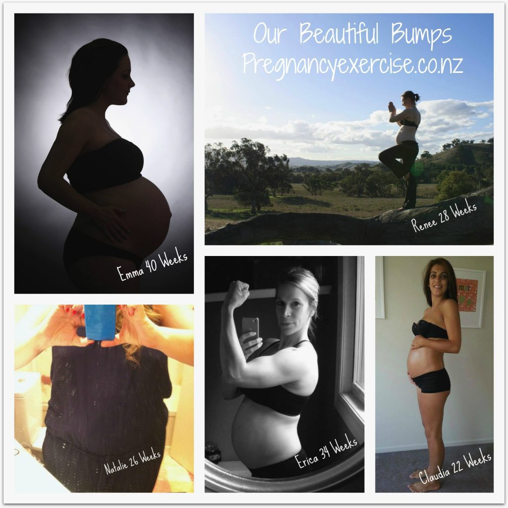 Beautiful Pregnancy Images of Fit and Healthy Mums