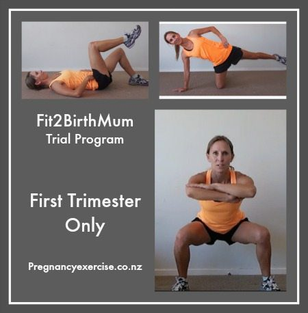trial Pregnancy Exercise Program first trimester