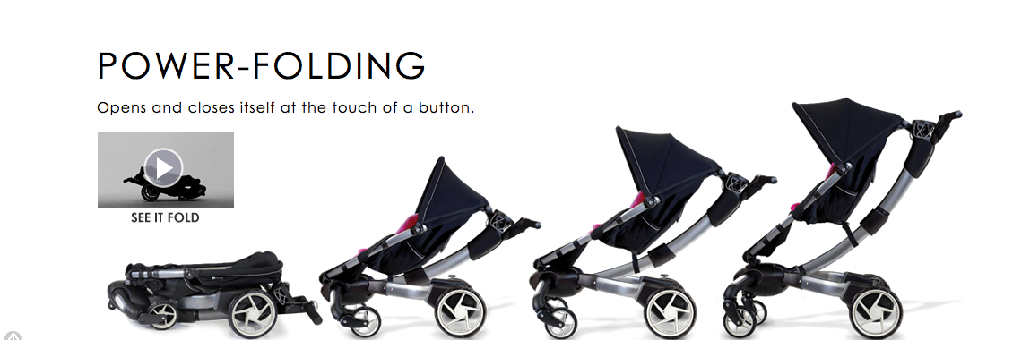 Oragami buggy, making a mums life easier