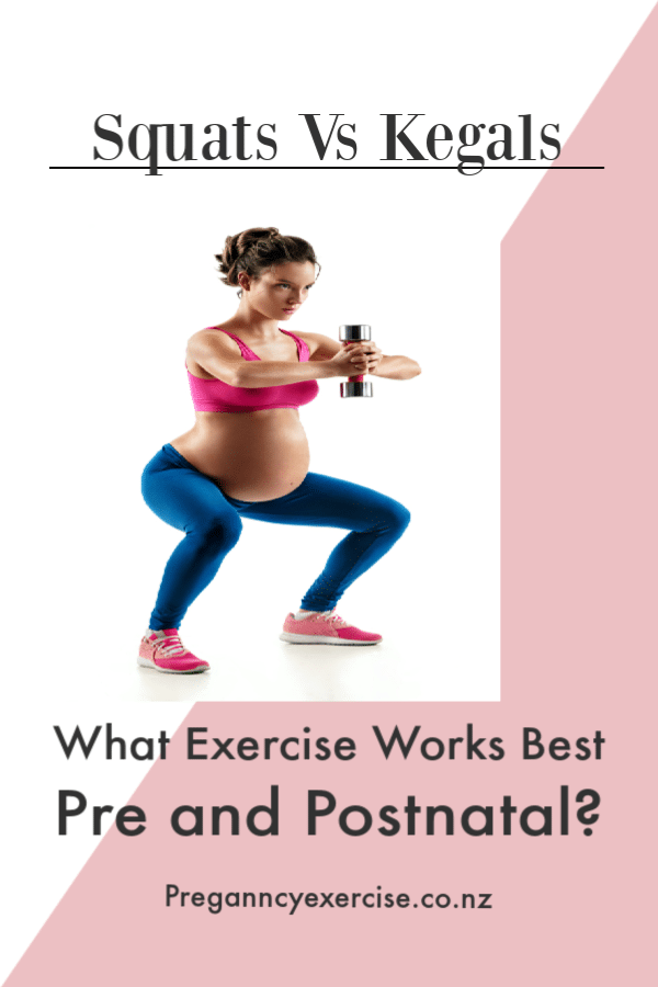 Squats Vs kegals what Exercise works best during pregnancy and postnatal?