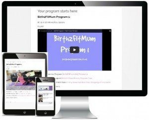 Birth2fitmum postnatal exercise program