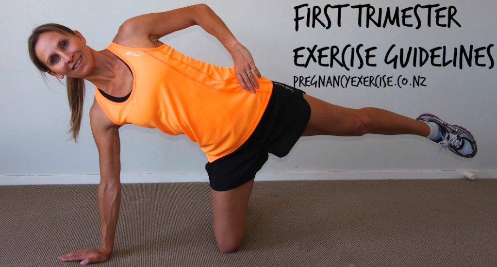 A Guide to exercise during your first trimester