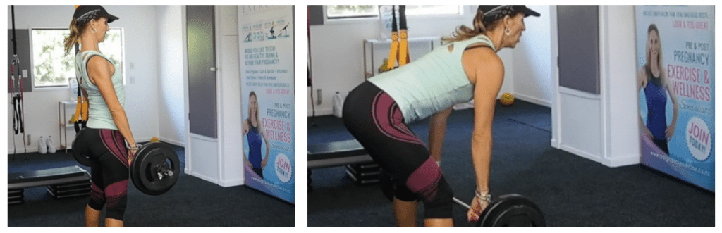 Deadlifting during pregnancy