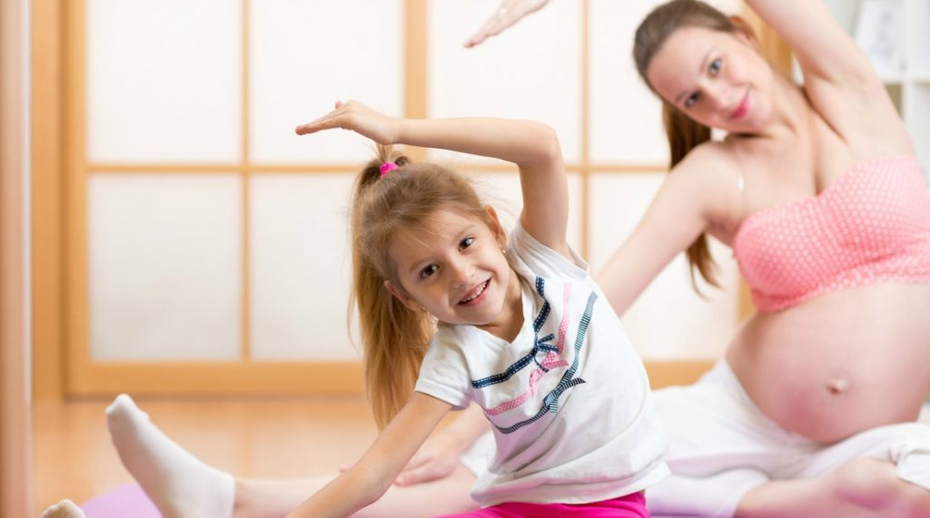 pregnancy exercise, teaching good habits for life