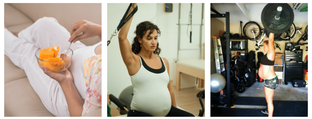 addicted to pregnancy exercise