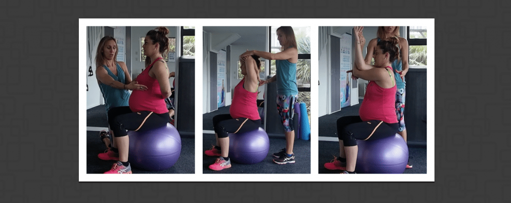 upper body stretches for pre and postnatal