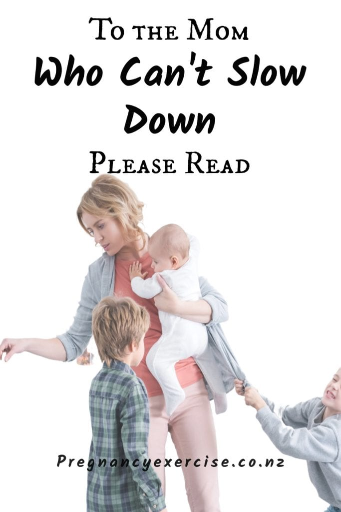 Tired mums, what you can do to slow down and rest up