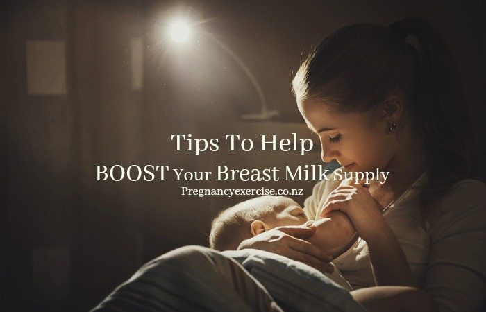 tips to help you boost your Breast Milk Supply