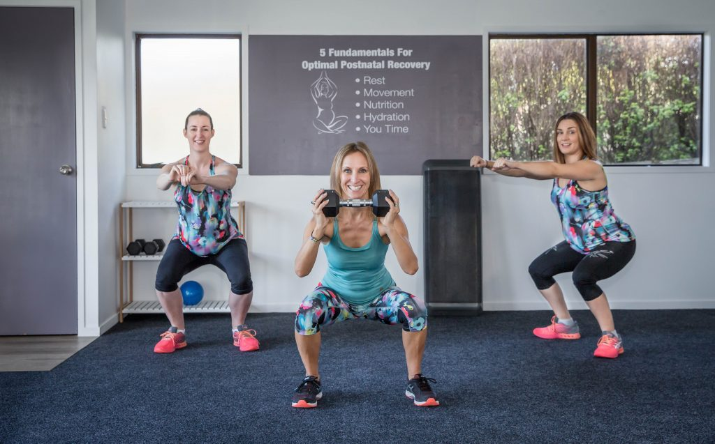 Pre and Postnatal Strength Exercises