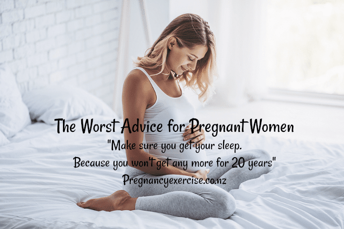 The Worst Advice for Pregnant Women