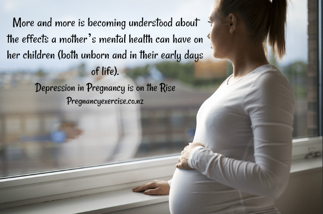 Depression in Pregnancy on the Rise