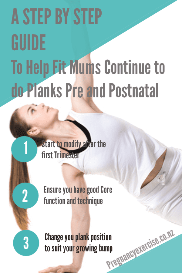 Can you plank during and beyond pregnancy.  here is a step by step guide to help you continue to plank in pregnancy and postnatal