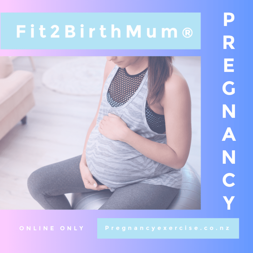 Pregnancy exercise complete workout exercise program - Fit2BirthMum