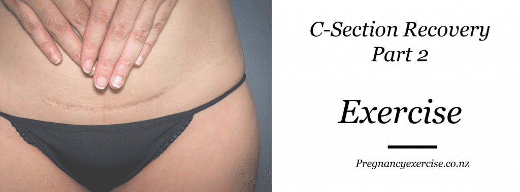 C section recovery exercise program