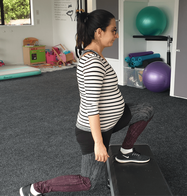 Pregnancy exercise modifications