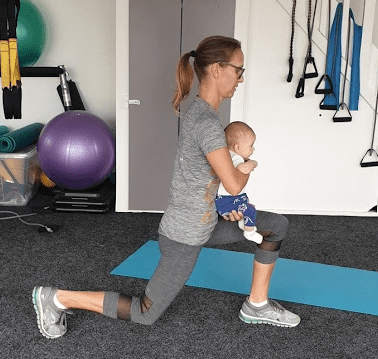 Fit Mom Workout with baby