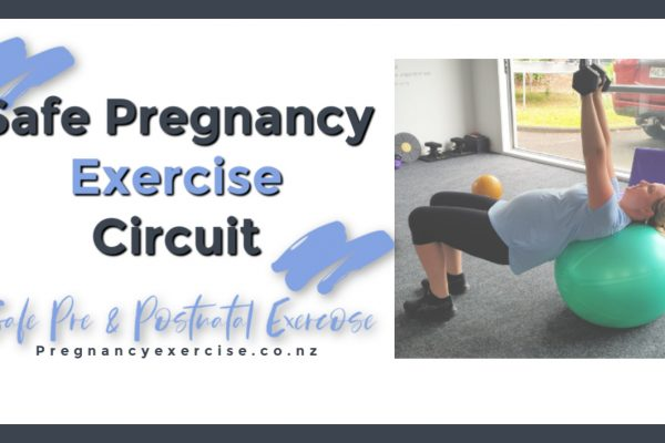 Pregnancy Exercise safe, Upper body, core, and glute circuit