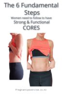 The 6 Fundamental Steps Women need to follow to have Strong & Functional CORES