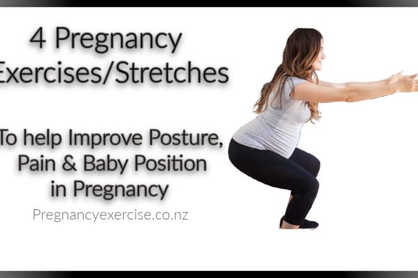 Pregnancy Exercises/Stretches to improve Posture, Aches & Pain & Baby Position during Pregnancy