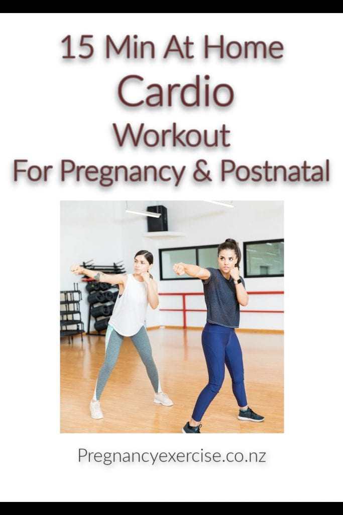 A 15 Min Home Cardio Session suitable pregnancy and Postpartum