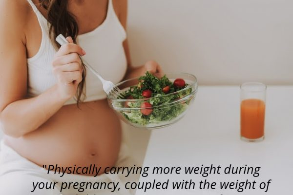 Why it's important to avoid overeating during pregnancy