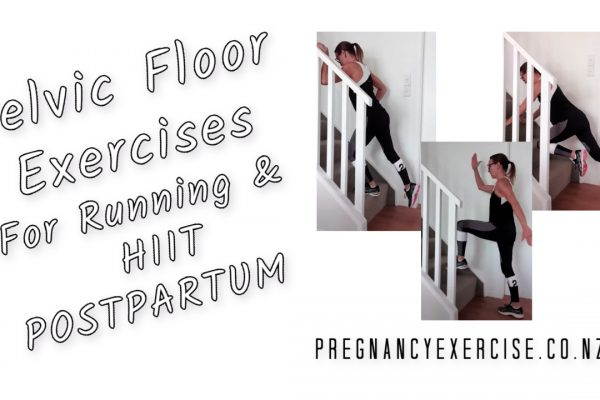 Exercises to prepare your Core and Pelvic Floor Muscle for Running and HIIT postpartum